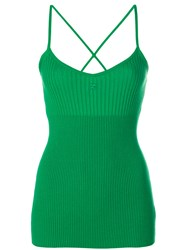 Courreges Tank Top Green