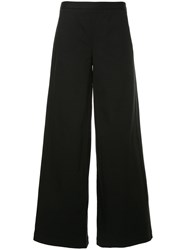 Oyuna Wide Leg Trousers Black