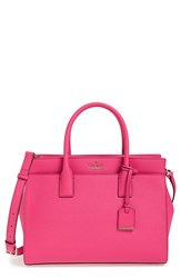 Kate Spade New York Cameron Street Candace Leather Satchel Pink Pink Confetti