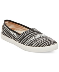 Madden Girl Madden Girl Sail Slip On Flats Women's Shoes Black White