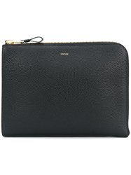 Tom Ford Envelope Clutch Bag Black