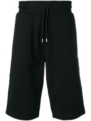Mcq By Alexander Mcqueen Swallow Badge Shorts Cotton Black