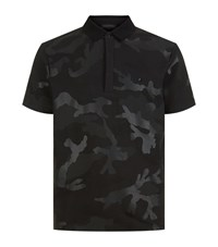 Valentino Camouflage Polo T Shirt Male Black