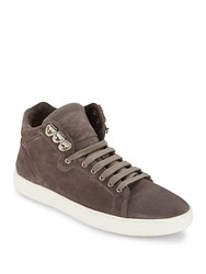 Rag And Bone Kent High Top Platform Sneakers Granite