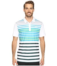 Puma Road Map Polo Surf The Web Men's Short Sleeve Knit Blue