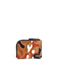 Icon Brand Camo Zip Wallet Brown
