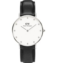 Daniel Wellington 0961Dw St Mawes Stainless Steel And Leather Watch White
