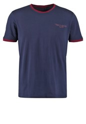 Teddy Smith Basic Tshirt Us Navy Blue