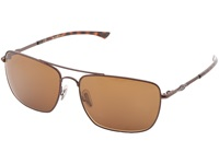 Smith Optics Nomad Matte Brown Frame Polar Brown Chromapop Lenses Sport Sunglasses Tan