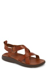 Chaco Sandal Rust Leather