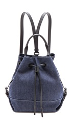 Opening Ceremony Denim Izzy Backpack