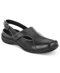 Easy Street Shoes Easy Street Sportster Comfort Clogs Women's Shoes Black