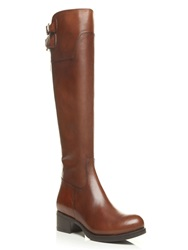 Moda In Pelle Tulsy Low Smart Long Boots Brown