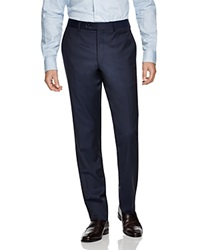 Jack Victor Loro Piana Classic Fit Trousers Navy