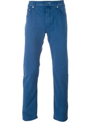 Jacob Cohen Casual Trousers Blue