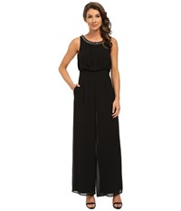 Jessica Simpson Jumpsuit With Necklace Black Women's Jumpsuit And Rompers One Piece