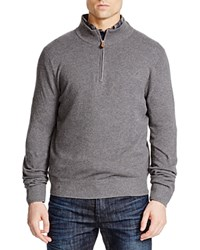 Brooks Brothers Pique Quarter Zip Pullover