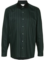 Cerruti 1881 Striped Shirt Black
