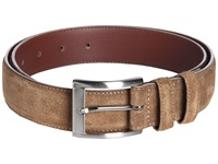 Torino Leather Co. Itailian Calf Suede Whiskey Men's Belts Brown