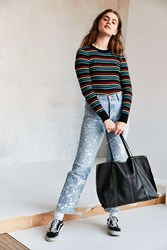 Urban Outfitters Erika Classic Leather Tote Bag Black