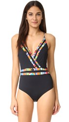 Nanette Lepore Mambo Goddess One Piece Black