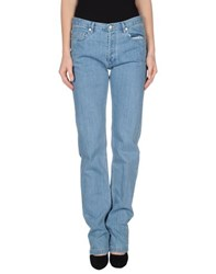 A.P.C. Denim Denim Trousers Women