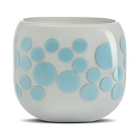 Nude Mono Box Iris Inspiration Vase Blue