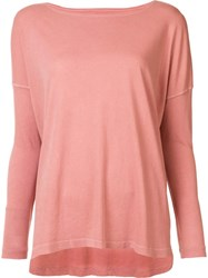 The Great Longsleeved T Shirt Pink Purple