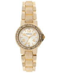 Styleandco. Style And Co. Watch Women's Gold Tone Bracelet 30Mm Sy030gbn Bone