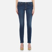 Vivienne Westwood Anglomania Women's New Monroe Jeggings Blue Denim