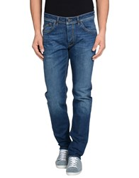 Heavy Project Denim Denim Trousers Men Blue