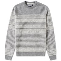 Barbour Haswell Crew Neck Grey