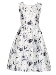 Cutie Forest Flowers Dress Grey