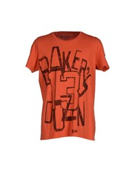 Pepe Jeans Topwear T Shirts Men Red