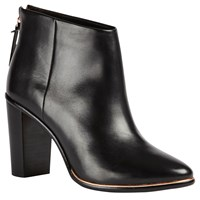 Ted Baker Lorca Block Heeled Ankle Boots Black