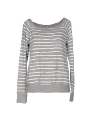 Le Coeur De Twin Set Simona Barbieri Topwear Sweatshirts Women Grey