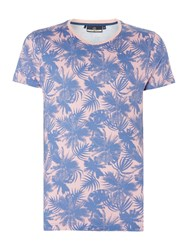 Duck And Cover Batai T Shirt Pink