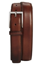 Magnanni Big And Tall Catania Leather Belt Brown