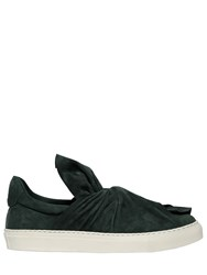 Ports 1961 20Mm Knot Suede Slip On Sneakers