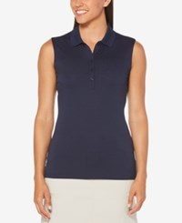 Callaway Sleeveless Golf Polo Peacoat