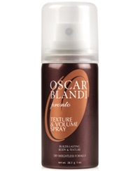 Receive A Free Texture And Volume Deluxe Spray With 35 Oscar Blandi Purchase