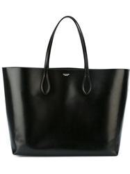 Rochas Medium Shopping Tote Black