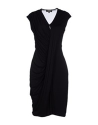 A'biddikkia Knee Length Dresses Black