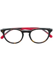 Carrera Round Shaped Glasses Brown