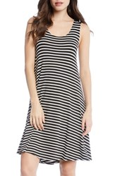 Karen Kane Stripe A Line Dress