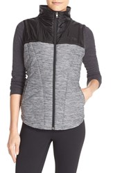 The North Face Women's 'Pseudio' Quilted Vest Tnf Dark Grey Heather Black