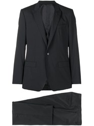 Dolce And Gabbana Classic Two Piece Suit Black