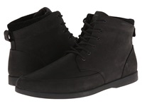 Clae Hamilton Black Nubuck Black Men's Lace Up Boots