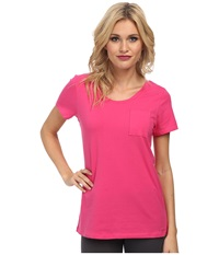 Bcbgeneration Jessa The Who Are You Wearing T Shirt Fuchsia Women's T Shirt Pink