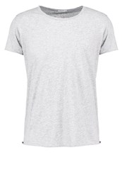 Filippa K Basic Tshirt Light Grey Melange Mottled Light Grey